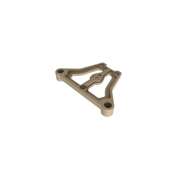 CNC machined 7075-T6 Front Upper Plate